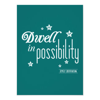 Dwell in Possibility カード