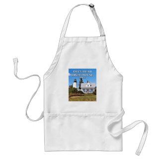 Dyceのヘッド灯台、メインの料理のエプロン スタンダードエプロン