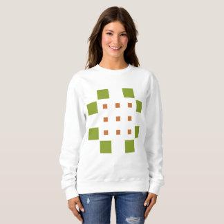 Dylo/白い女性の基本的なスエットシャツ スウェットシャツ