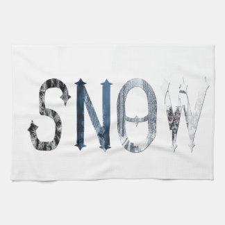 Dymond Speersの雪タオル キッチンタオル
