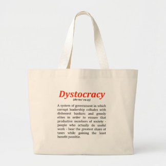 dystocracy2.png ラージトートバッグ