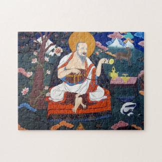 dzongの仏教徒の芸術 ジグソーパズル