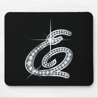 """Eの原稿ののど""""ダイヤモンド"""" マウスパッド"""
