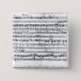 Eの平たい箱の専攻学生「のKegelstattトリオ、 5.1cm 正方形バッジ