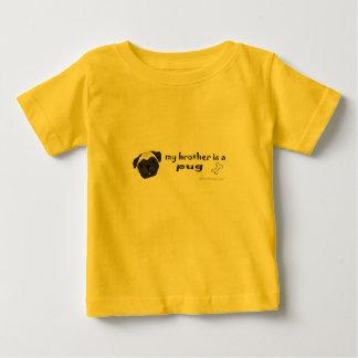 eの私の兄弟はパグより多くの品種です ベビーTシャツ