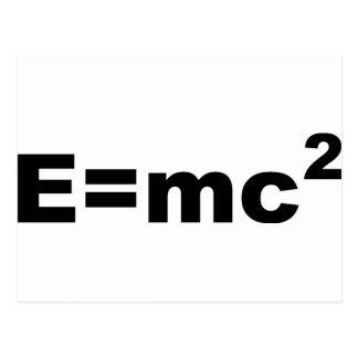 Eの=MC 2 ポストカード