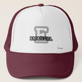 Eはエマニュエルのためです キャップ