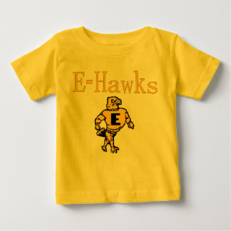 Eタカほとんどの愛らしいファン ベビーTシャツ