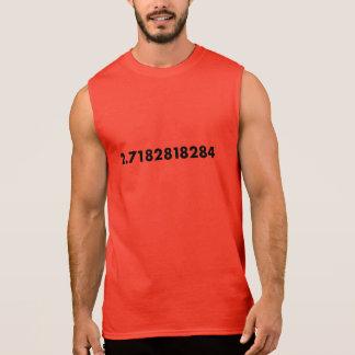 E -自然対数の基盤 袖なしシャツ