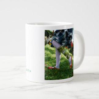 E.b.ライム病の認識度のマグによるアートワーク ジャンボコーヒーマグカップ