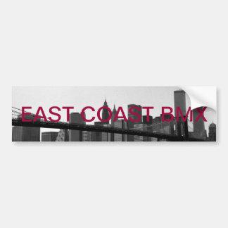 E.c.bのステッカーのブルックリン橋 バンパーステッカー
