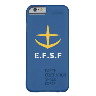 E.F.S.Fの電話箱(きれいな) (青) BARELY THERE iPhone 6 ケース