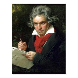 e-i記述のルートヴィヒ・ヴァン・ベートーヴェン(17701827) auf ポストカード