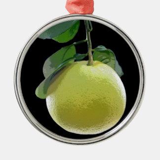 E.L.D.によるグレープフルーツの果樹の写真 メタルオーナメント