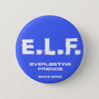 E.L.F. 2005年 5.7CM 丸型バッジ