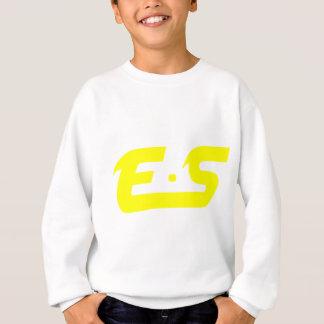 E.Sの日光の黄色のロゴプロダクト スウェットシャツ