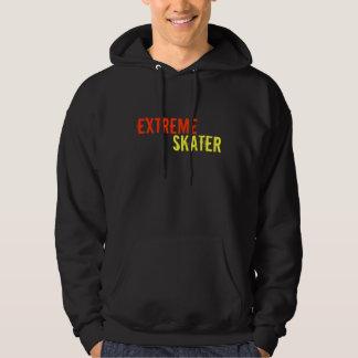 E.S SKATEWEARの極度なスケート選手のフード付きスウェットシャツ パーカ