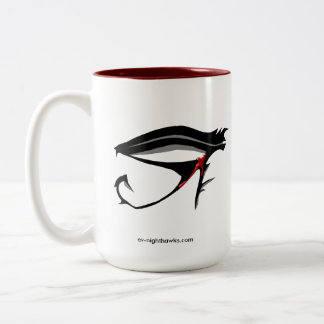 E: Vアメリカヨタカ亜科の艦隊の酒飲み ツートーンマグカップ