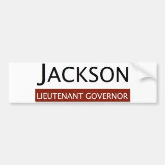E.W. ジャクソンの副知事バンパーステッカー バンパーステッカー