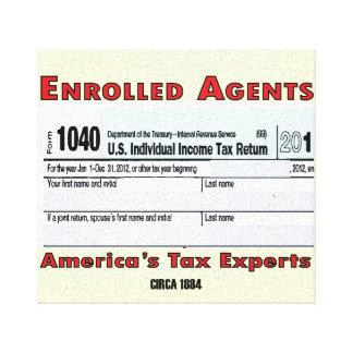 EAアメリカ税の巧妙なオフィスのキャンバス キャンバスプリント