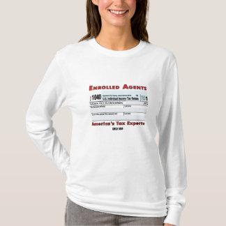 EAアメリカ税の巧妙な女性のワイシャツ Tシャツ
