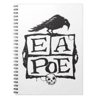 EA Poeはノートを囲みます ノートブック