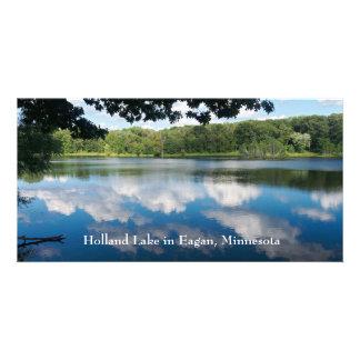 Eaganで景色holland湖 カード