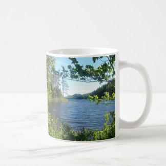 eagle湖、メイン、米国 コーヒーマグカップ