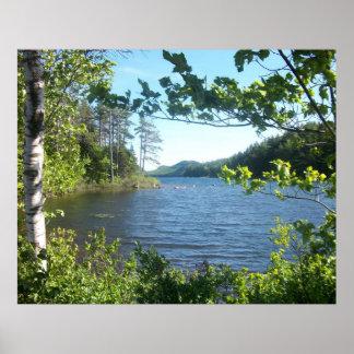 eagle湖、メイン、米国 ポスター