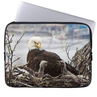 eagletsの大人の白頭鷲 ラップトップスリーブ