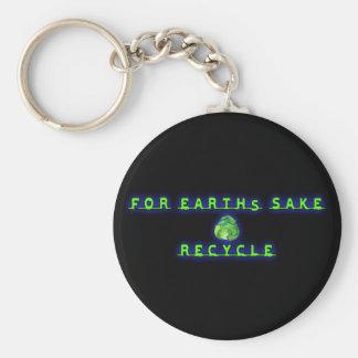 Earhtの為のため、リサイクル キーホルダー