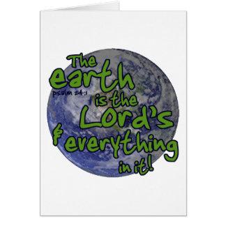 Earth主の カード