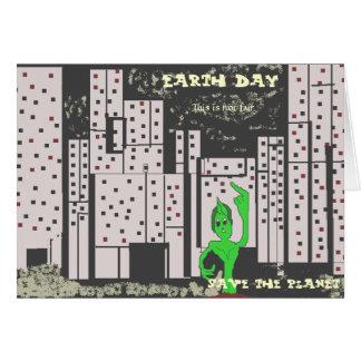 Earth日カード カード