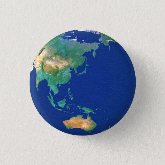 Earth 3.2cm 丸型バッジ