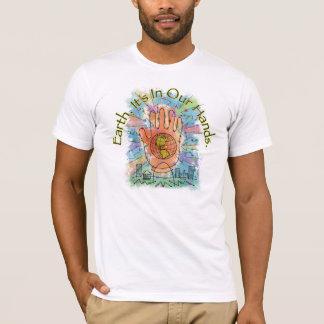 Earth/In私達の手のワイシャツ Tシャツ