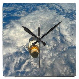 Earth_Spaceの眺め スクエア壁時計