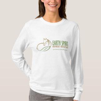 Earth Spirit Horse Rescue Inc.のフード付きスウェットシャツ(女性) 2 Tシャツ