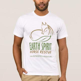 Earth Spirit Horse Rescue Inc.のTシャツ(メンズ) Tシャツ