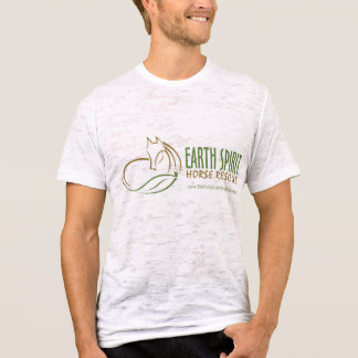 Earth Spirit Horse Rescue Inc.のTシャツ(Mens2) - 2 Tシャツ