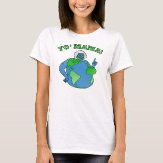 Earth Yoのおもしろいなママ Tシャツ