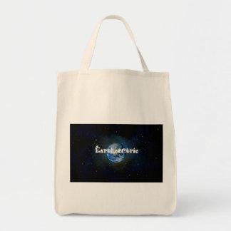 Earthcentricすべてのオーガニックな食料雑貨の戦闘状況表示板 トートバッグ