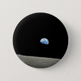 Earthrise 5.7cm 丸型バッジ