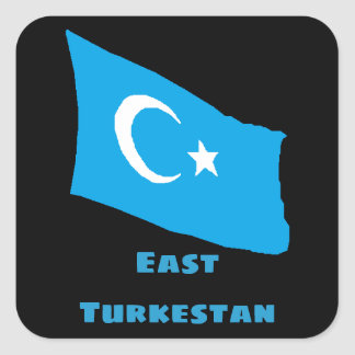 East Turkestan Flag Sticker