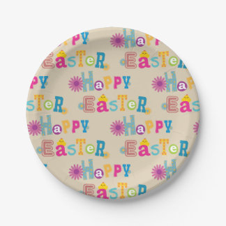 Easter Paper Plates ペーパープレート