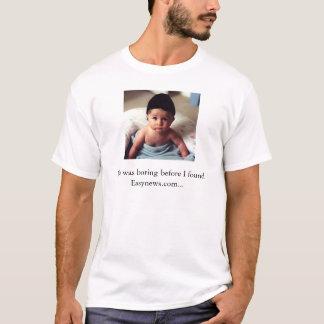 Easynewsのコンテストの記入項目#1 Tシャツ