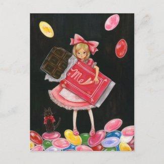 EAT ME ! postcard
