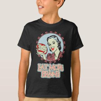 Eat_More Brains Tシャツ
