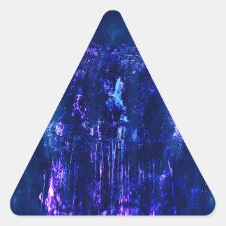 Eatherealの滝 三角形シール