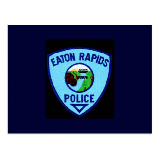 EATONの急流の警察の部門 ポストカード