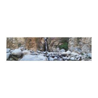 Eaton渓谷、パサデナ、カリフォルニア キャンバスプリント